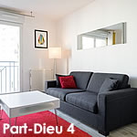 location appartement meubl lyon part dieu. Black Bedroom Furniture Sets. Home Design Ideas